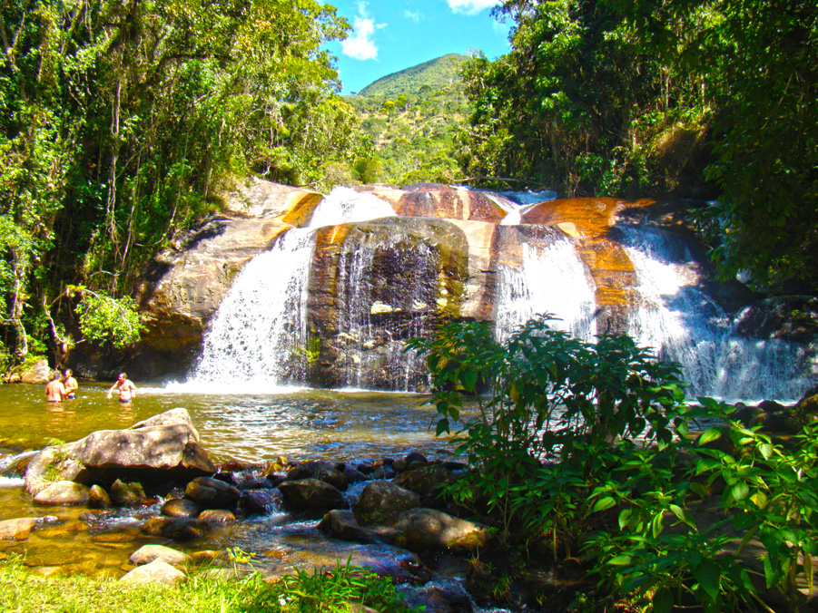 Pontos Turísticos - Cachoeira do Rio Grande - Visconde de Mauá