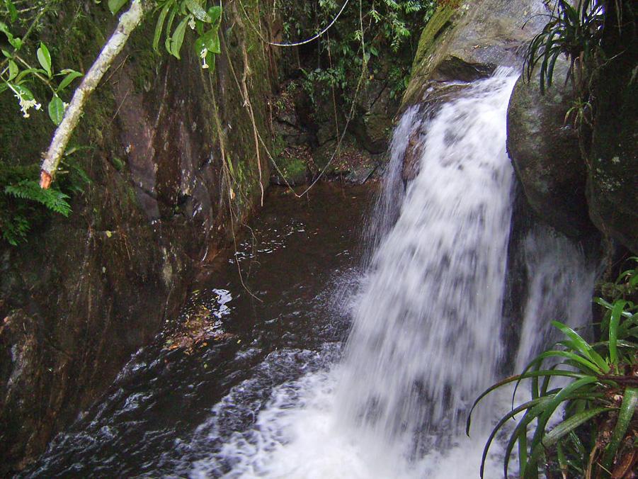 Pontos Turísticos - Cachoeira Toca da Raposa - Visconde de Mauá