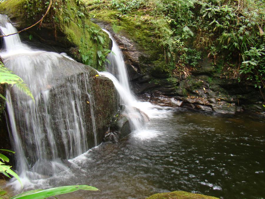 Pontos Turísticos - Parque Ecológico Cachoeiras do Santuário - Visconde de Mauá