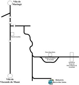 Circuito das Cachoeiras - Balneário Barra das Antas